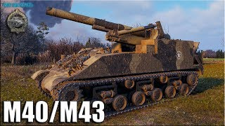 Рэдли Уолтерс на АРТЕ США M40/M43 ✅ World of Tanks лучший бой