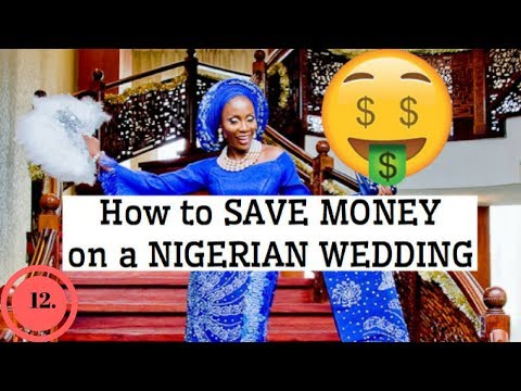 NIGERIAN WEDDING TIPS 2018   10 BUDGET TIPS   Daily Vlog #12   Sassy Funke