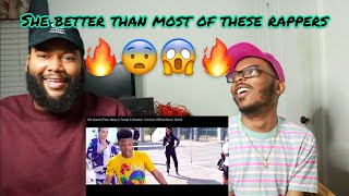 Gambar cover Ms Cosmo (Feat. Nasty C, Rouge & Kwesta) - Connect (Official Music Video) - REACTION