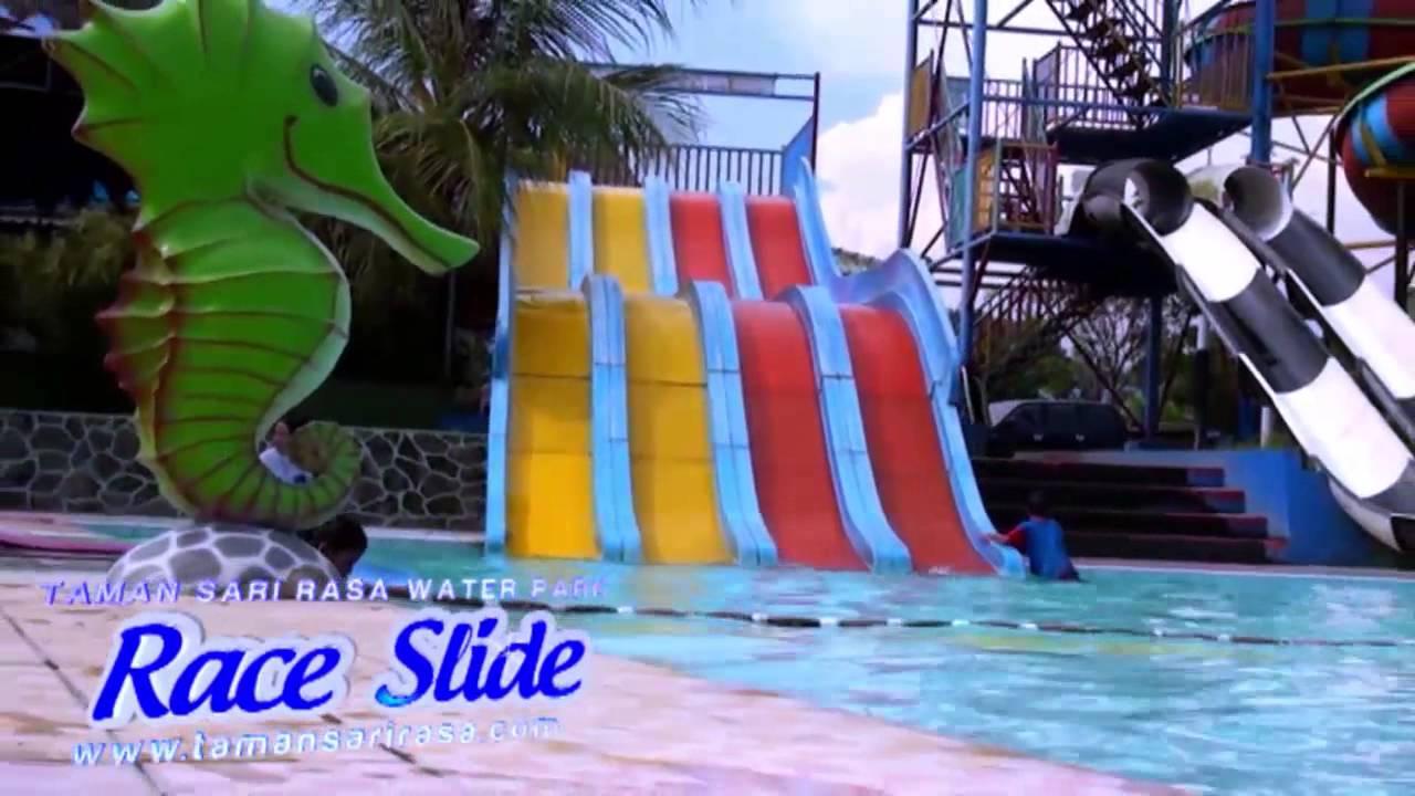 Taman Sari Rasa Water Park Official Video   YouTube