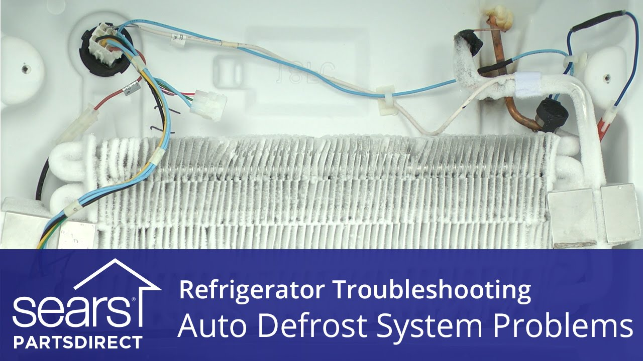 Troubleshooting Defrost System Problems In Refrigerators Youtube Heater Wiring Diagram