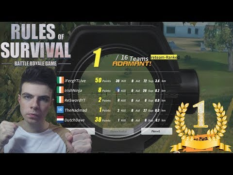 30 KILLS Carrying Subscribers for my 30,000 Special ! | Fireteam Highest Kills 30 Rules Of Survival