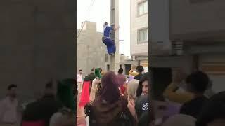 Muslim Woman Twerks on Telephone Pole in Iran