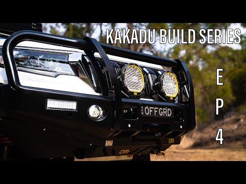 Kakadu Build Series Ep 4 - TJM Bullbar, Torq Winch, LED Driving Lights