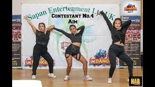 UK DANCE OFF 2017 [contestant No.4 AIM]