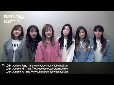 2017 PLAN A/FAVE Global Audition in L.A - Apink
