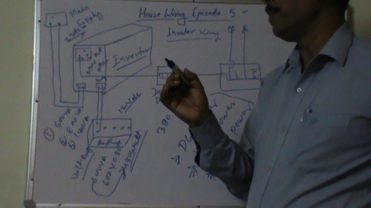 House Wiring Episode 2 Invertor Connections Youtube Job Description