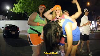 Funny Drunk Girls Fail Compilation March 2016 - ViralFail TV