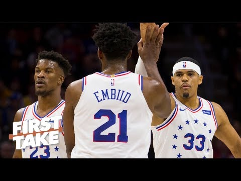 Tobias Harris makes the 76ers the best team in the East - Max Kellerman | First Take