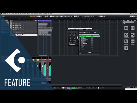 Flanger | Effects and Plug ins Included in Cubase