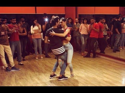 Cornel and Rithika | Bachata Sensual | Kiss me - Lola Jane Bachata remix