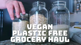 Vegan Plastic Free Grocery Haul (Is this a vlog?)