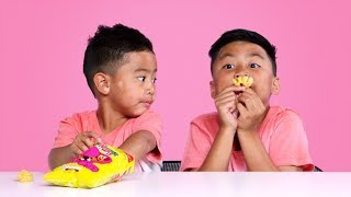 Kids Try Snacks from Great Britain | Kids Try | HiHo Kids