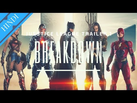 JUSTICE LEAGUE Trailer 1 Breakdown | Explained in Hindi | DCEU India