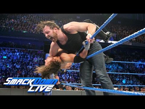 Dean Ambrose vs. AJ Styles: SmackDown LIVE, Jan. 31, 2017