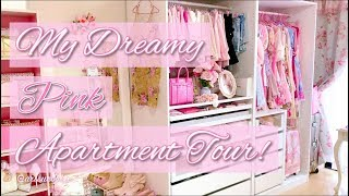 💗🌸🎀My Dreamy Pink Apartment / Room / Closet Tour! 🎀🌸💗