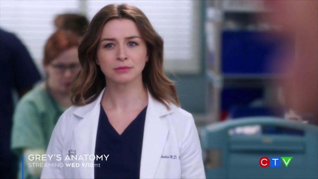 Greys Anatomy 15x10 Help Im Alive Ctv Promo Youtube