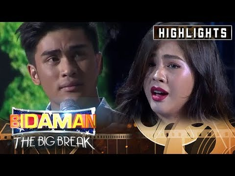 Ron Macapagal and Janella Salvador in Matinee Matibay round | It's Showtime BidaMan