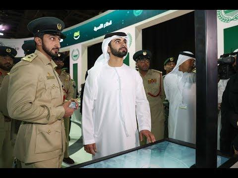 منصور بن محمد يفتتح معرض الإمارات للوظائف 2018