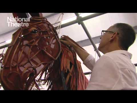 War Horse - visiting The Puppet Factory in South Africa