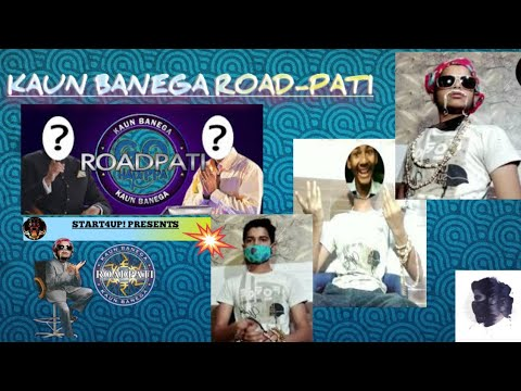 Kaun Banega Road-pati || COMEDY || THE CORNER SHOW || ft. Amitabh Bachchan || funny entertainment.