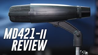 Sennheiser MD421 II Dynamic Mic Review / Test