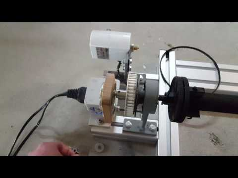 Homemade Rod Wrapping Machine