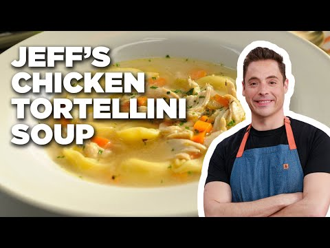 How to Make Jeff's Chicken Tortellini Soup | Food Network