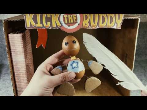 Watch : Playing Kick the Buddy in real...
