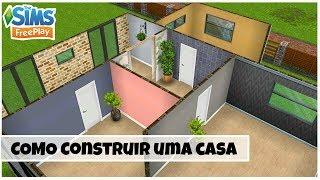 10 DICAS PARA CONSTRUIR UMA CASA | SEGUNDO A ARQUITETURA NÃO OFICIAL |The Sims Freeplay #1