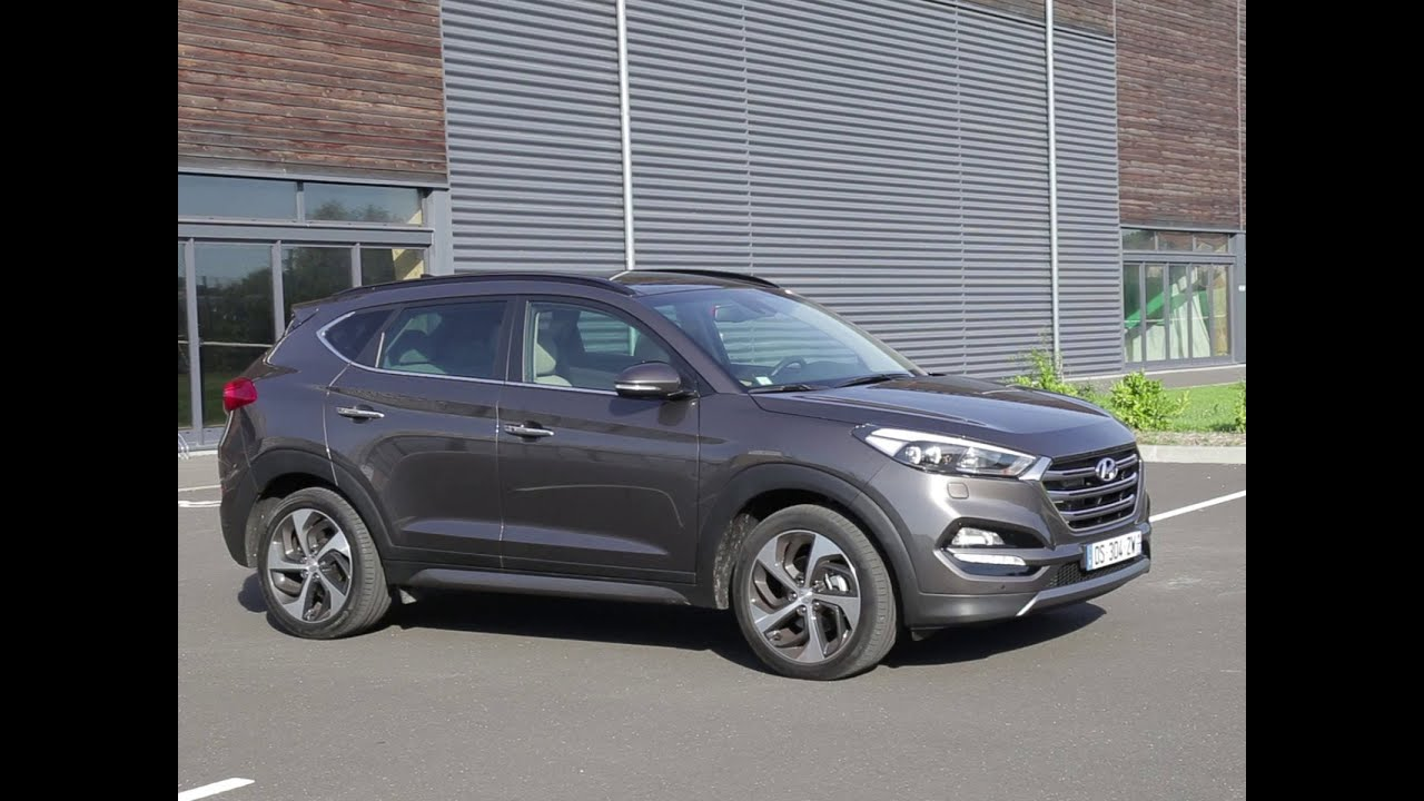 essai hyundai tucson 2 0 crdi 136 awd executive 2015 youtube. Black Bedroom Furniture Sets. Home Design Ideas