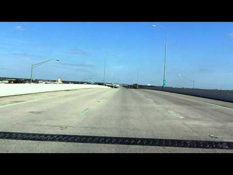 Lee Roy Selmon Expressway (FL 618 Exits 9 to 15) eastbound (Express Lanes)