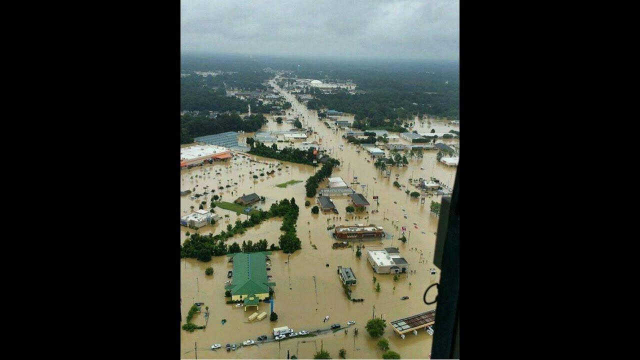 Bass pro denham springs flood