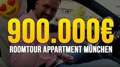MASSIVE 900.000€ Roomtour München INNENSTADT 😍!