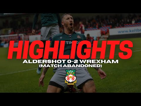 Aldershot Wrexham Goals And Highlights