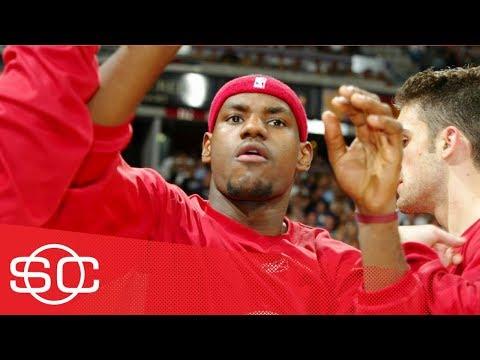 LeBron James & Carmelo Anthony's NBA debuts on SportsCenter | ESPN Archives