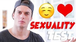 TEST DETERMINES MY SEXUALITY | Absolutely Blake