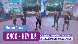 Video CNCO - Hey DJ - Mucho Gusto 2017 download MP3, 3GP, MP4, WEBM, AVI, FLV Desember 2017