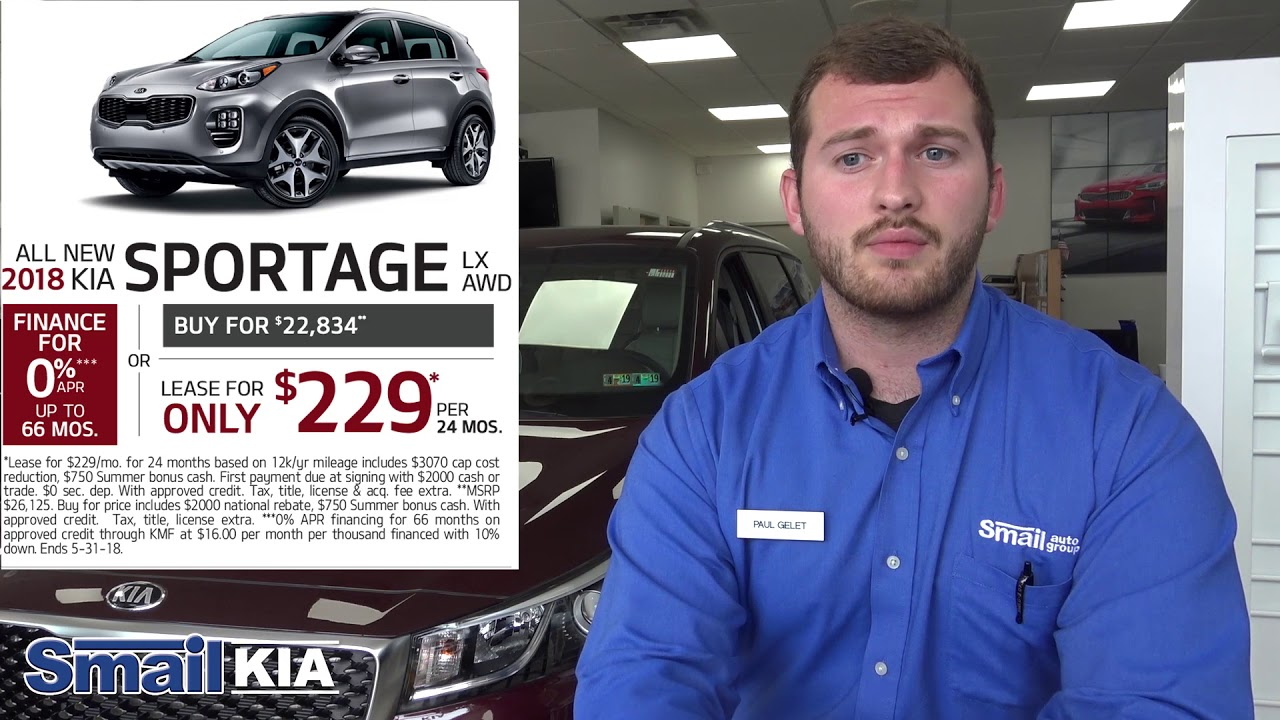 Kia Special Offers >> Lease And 0 Apr Finance Special Offers At Smail Kia May 2018