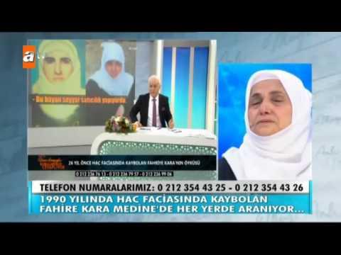 Nihat Hatipoğlu'ndan Hac Felaketinde Kaybolan Fahire Hanım Hakkında Açıklamalar! - Atv