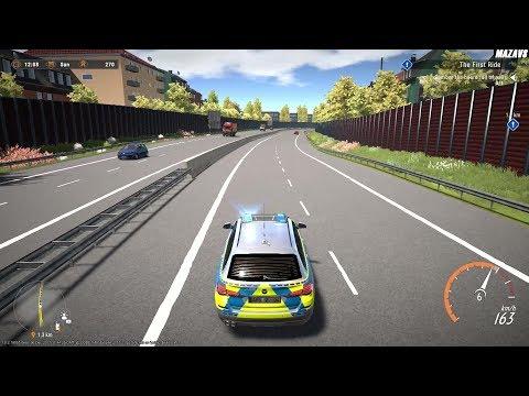 Autobahn Police Simulator 2 ★ GAMEPLAY ★ GEFORCE 1070