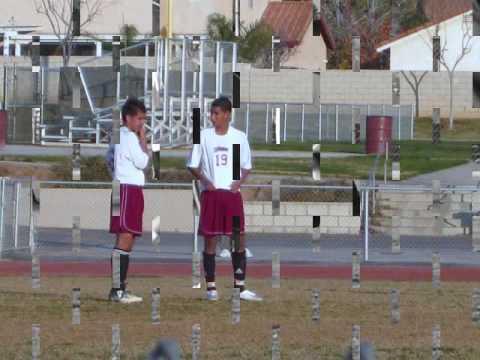 jeyson duarte #19 playing soccer @ Patriot High School - YouTube