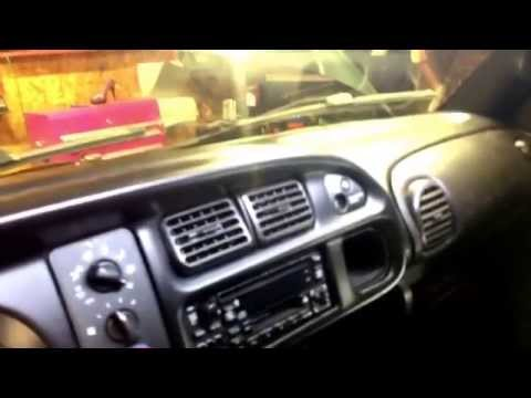 Replace Install New Dash, Repair Broken Cracked Dash 1999 Dodge Ram