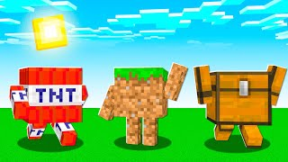 MINECRAFT But BLOCKS Are ALIVE!