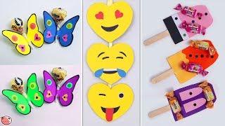10 DIY KIDS CRAFT !!! AMAZING CHOCOLATE HACKS & CRAFT