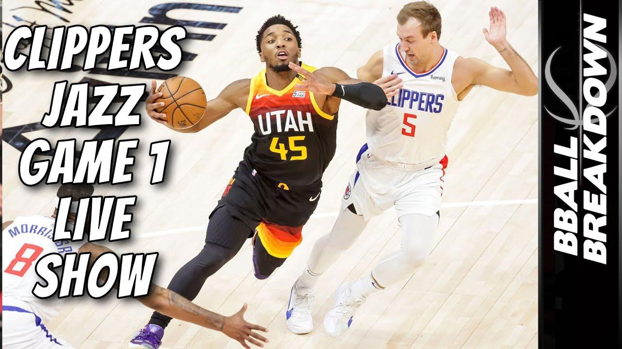 Clippers At Jazz Game 1 LIVE Post Game Show