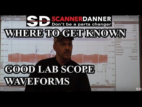 Where to get known good lab scope waveforms