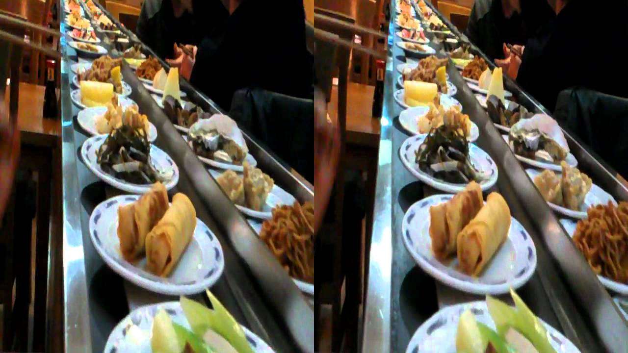 Restaurante Japones Buffet Libre Barcelona Buffet Giratorio Barcelona In 3d Where Available