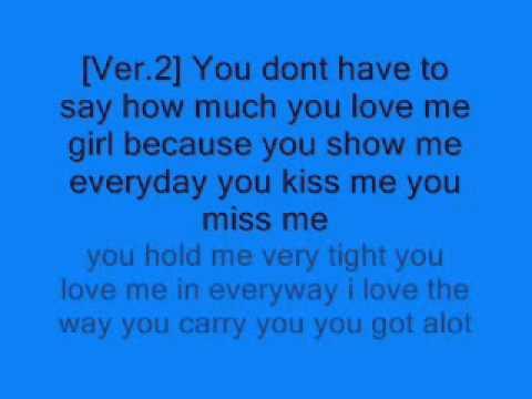 Written all Over You Face Lyrics