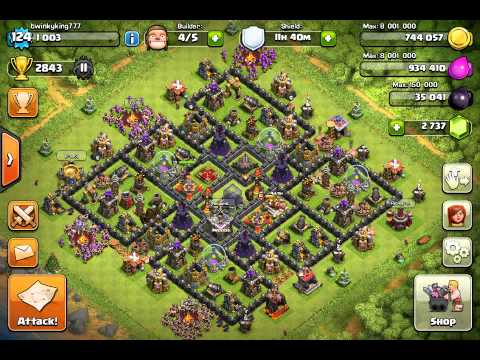 Clash Of Clans Account For Sale Lvl 124 TWINKYKING777